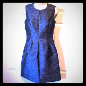 MILLY SHIFT DRESS BLUE NEVER USED